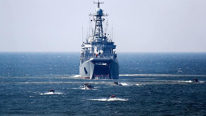 В Крыму построят два больших десантных корабля