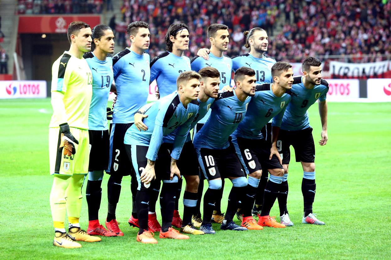 Сборная Уругвая. Фото: globallookpress.com