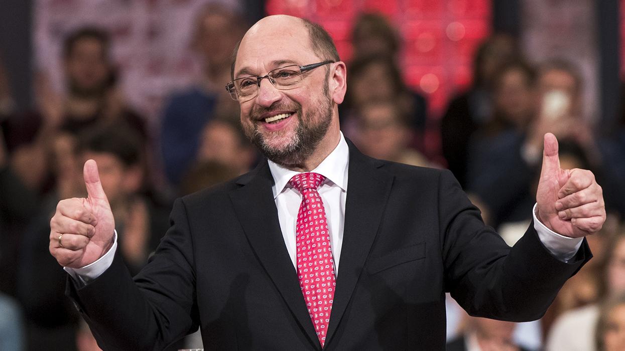 Мартин Шульц избран главой Социал-демократической партии Германии и утвержден кандидатом на пост федерального канцлера ФРГ