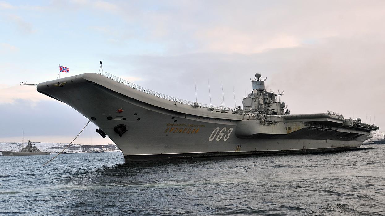 адмирал кузнецов военный корабль