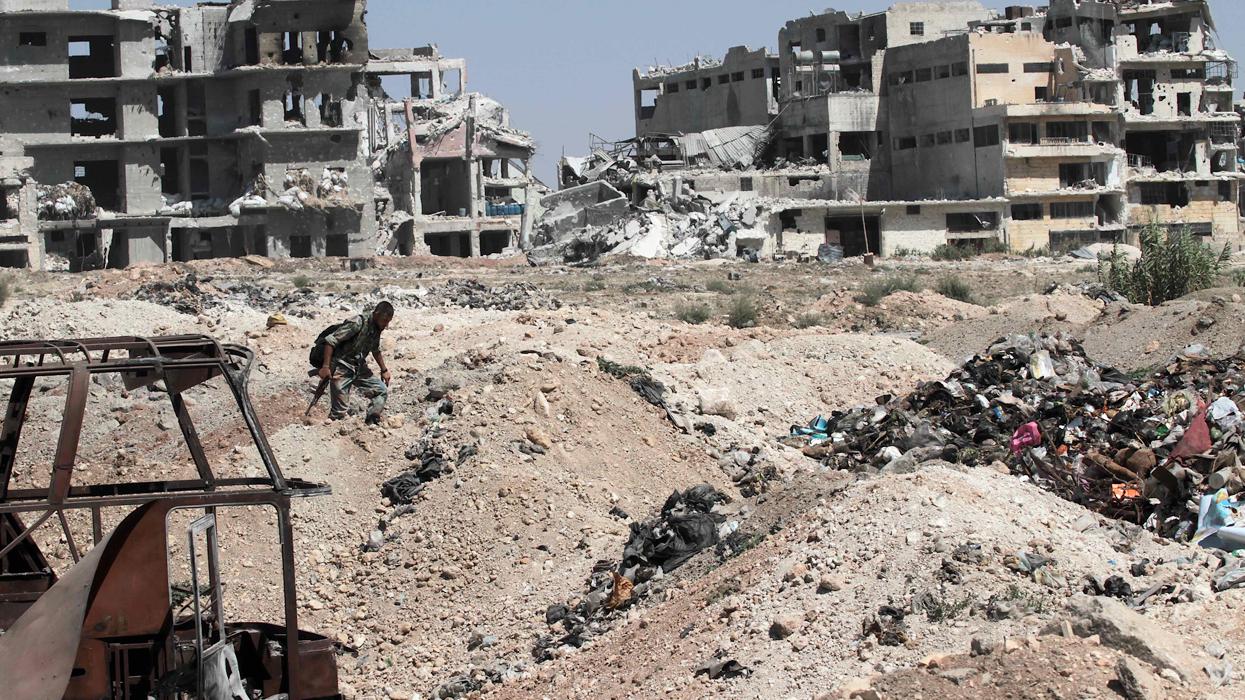 сирия ракка алеппо авиаудар