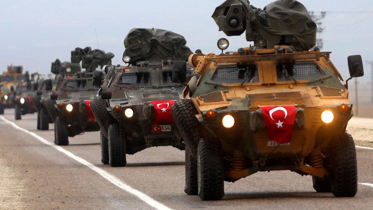 турецкие войска