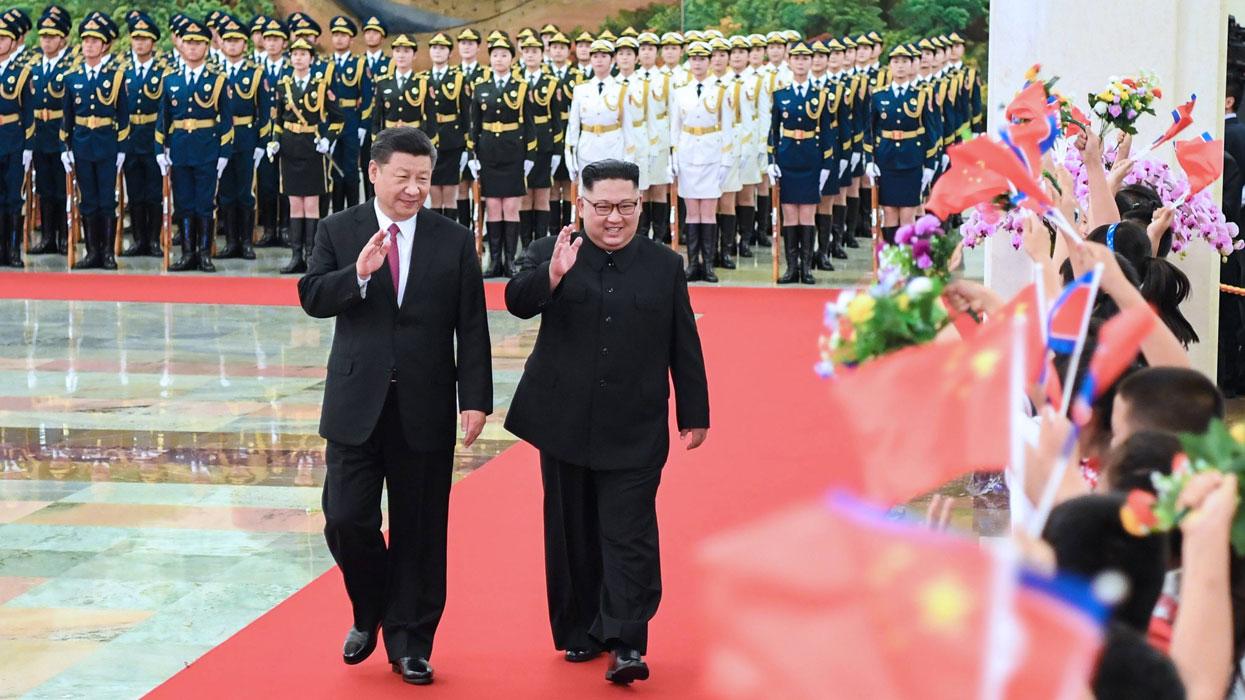 Третий визит затри месяца: Ким Чен Ынснова вПоднебесной