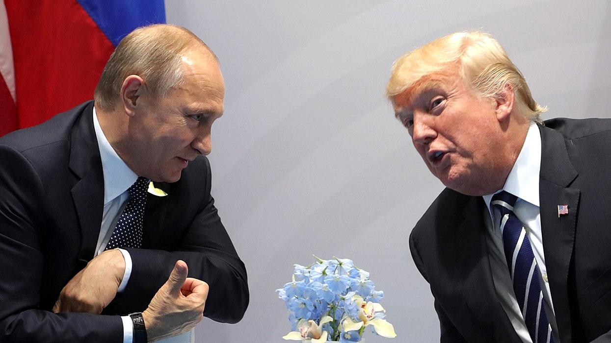 Путин - Трамп