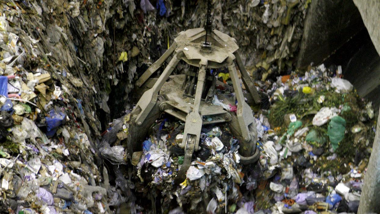 Завод по переработке мусора в московской области