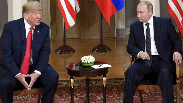 встреча Путина и Трампа