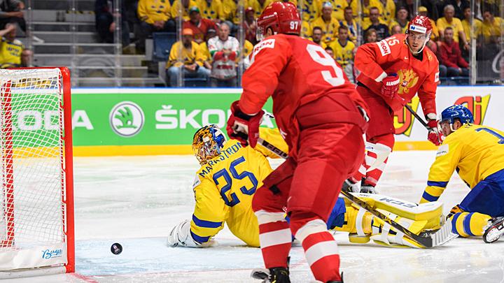 Шесть шайб за период: Русские парни заставили Швецию вспомнить 1981 год