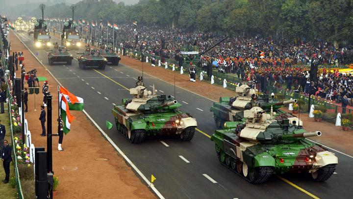 Индия парад