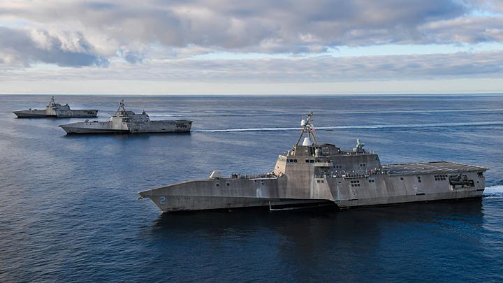 США готовят флот к войне с Китаем и Россией