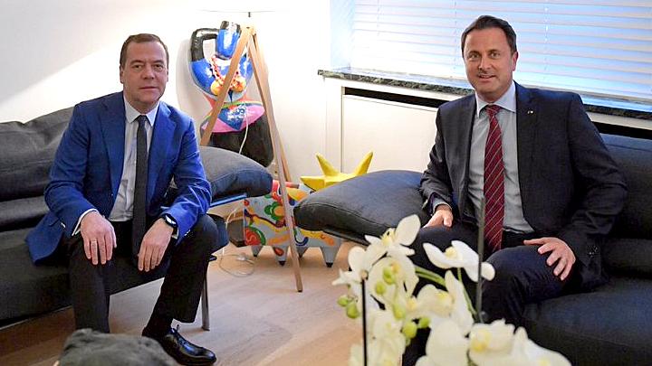«Изучите азы»: Дмитрий Медведев осадил «клерка» из американского посольства в Люксембурге