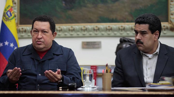 Чавес и Мадуро