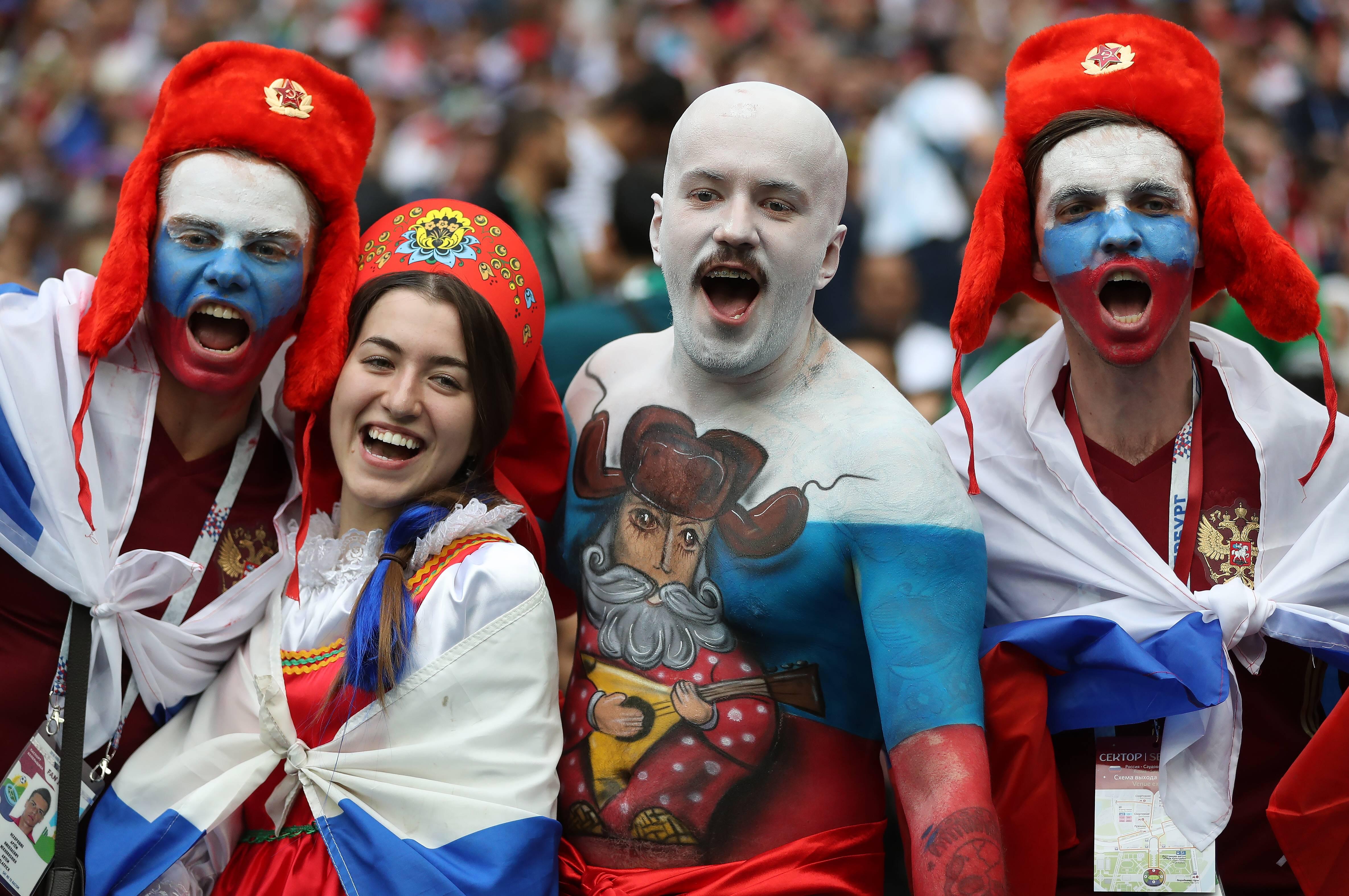 14 июня 2018 г. Москва. Россия - Саудовская Аравия - 5:0. Фото: globallookpress.com