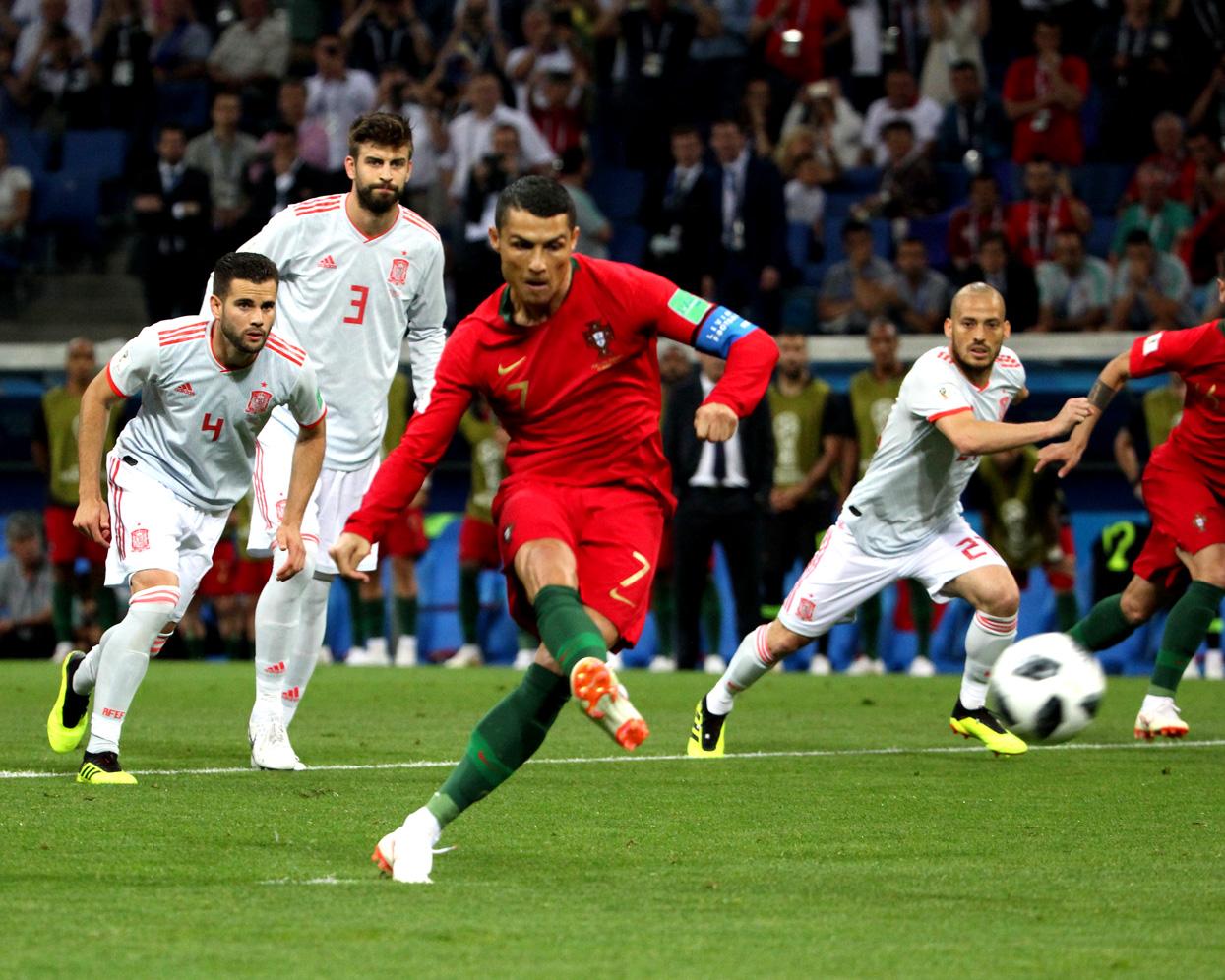 15 июня 2018 года. Сочи. Португалия - Испания - 3:3. Фото: globallookpress.com