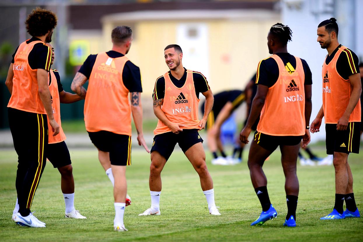 Тренировка сборной Бельгии. Фото: globallookpress.com