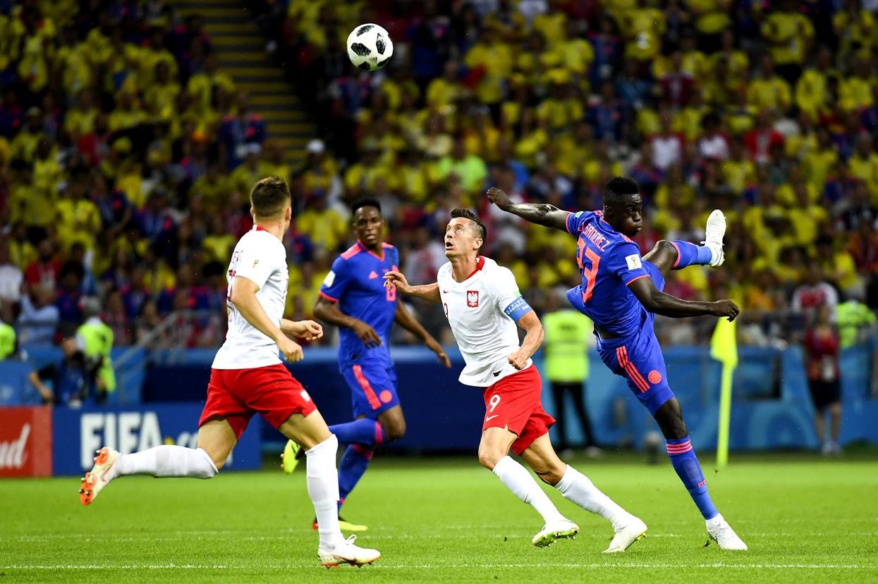24 июня 2018 года. Казань. Польша - Колумбия - 0:3. Фото: globallookpress.com