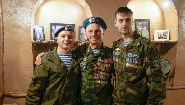 Павел Кузьмич Клетнёв, почётный десантник РФ