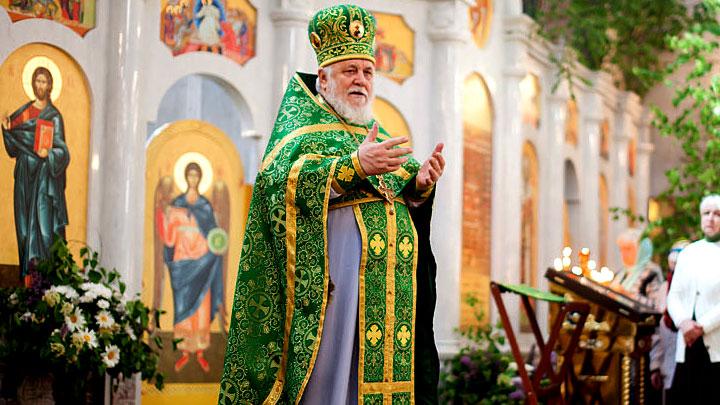 Проповедь протоиерея Николая Агафонова в День Святой Троицы 2018 года. Фото: Самарская епархия Русской Православной Церкви