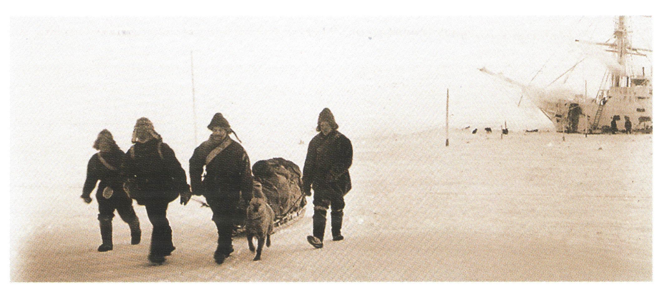 Александр Колчак во время зимовки на Таймыре, 1900 год.