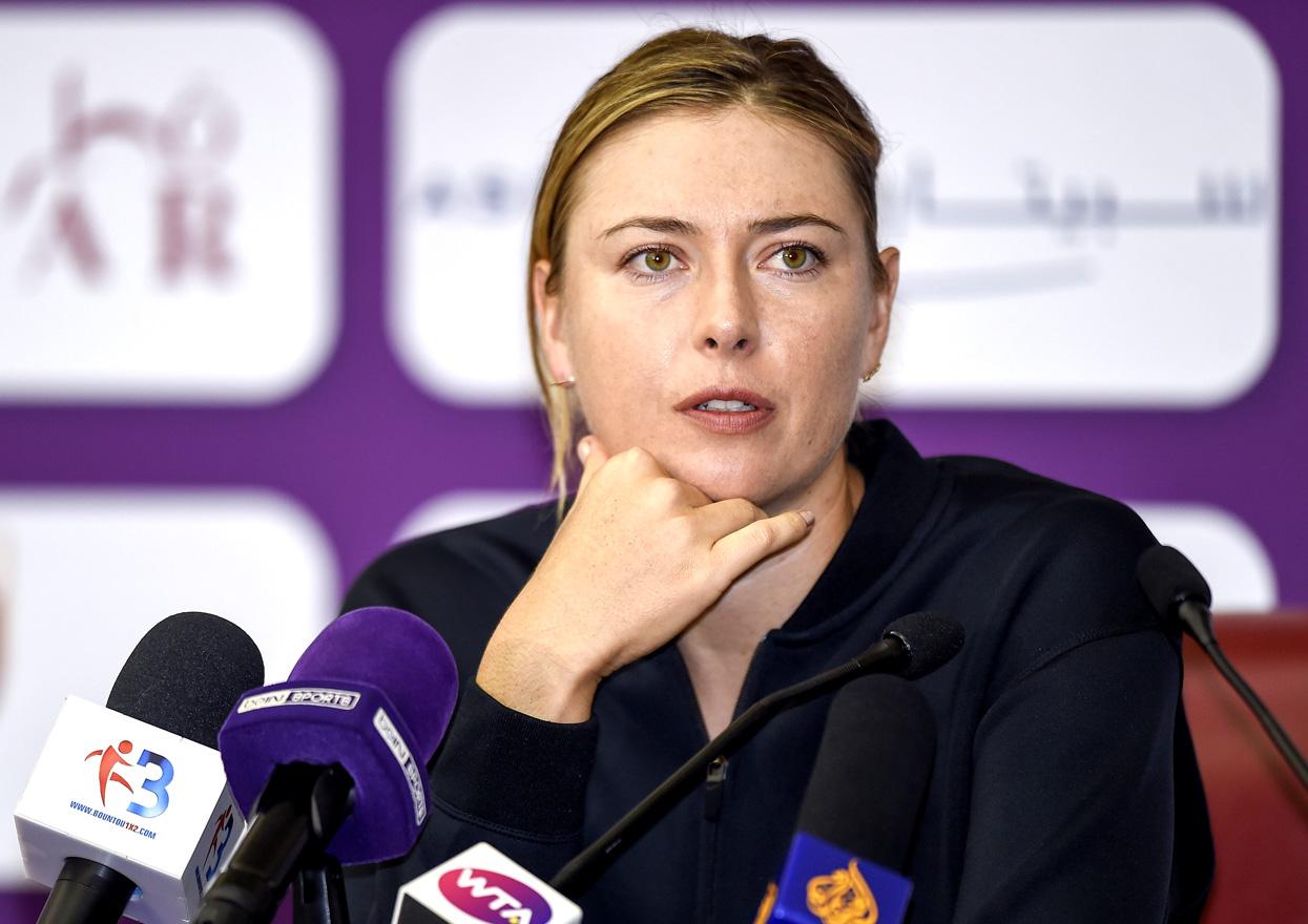 Мария Шарапова. Фото: globallookpress.com