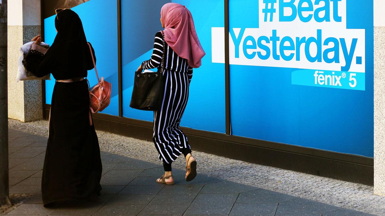мусульманки в Берлине