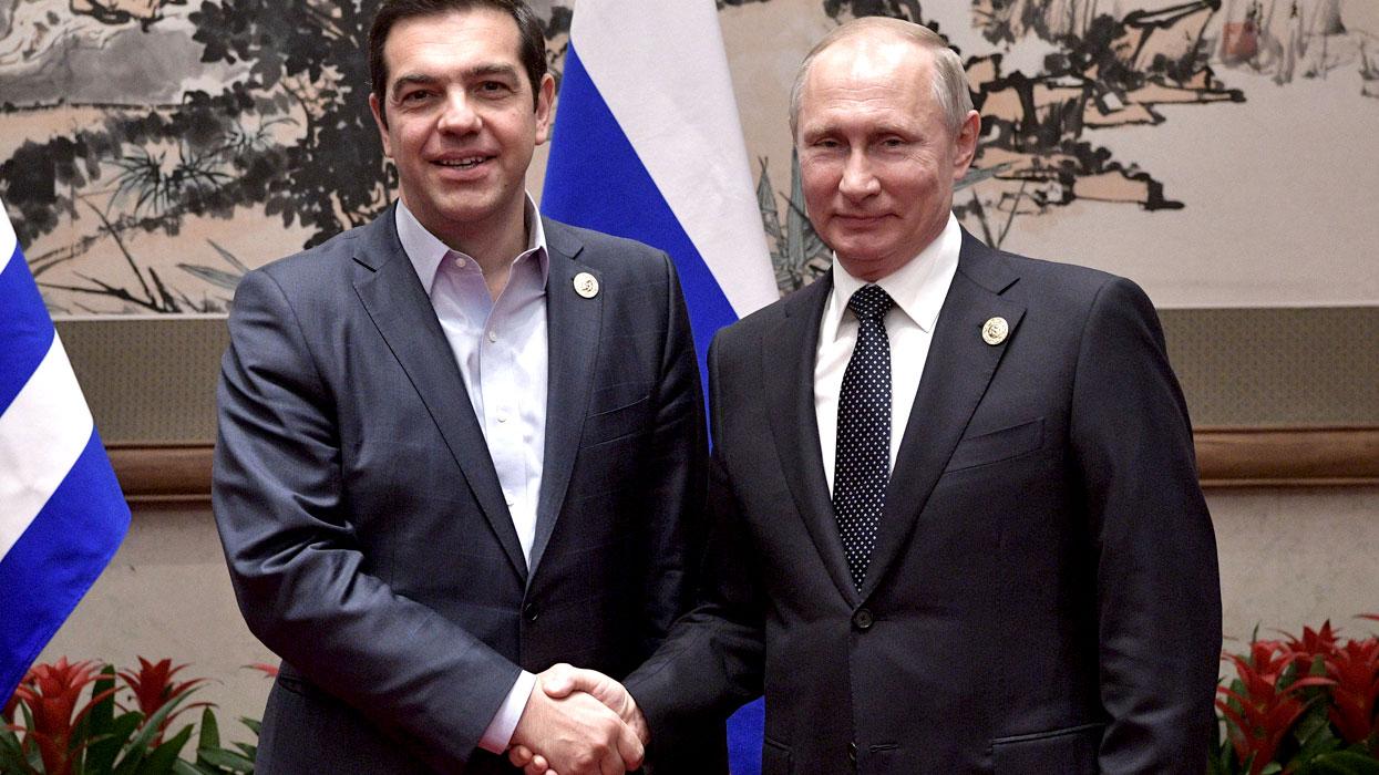 Ципрас и Путин