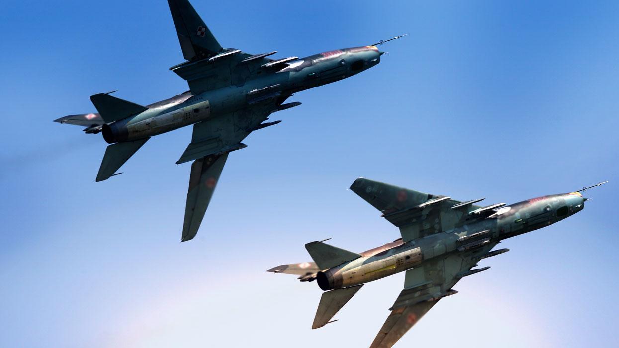 Самолеты Су-22