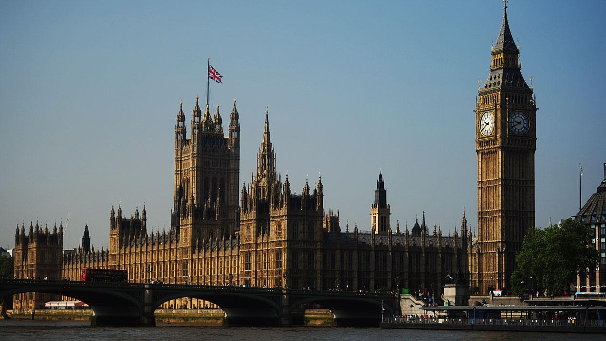 Вид на здание Парламента