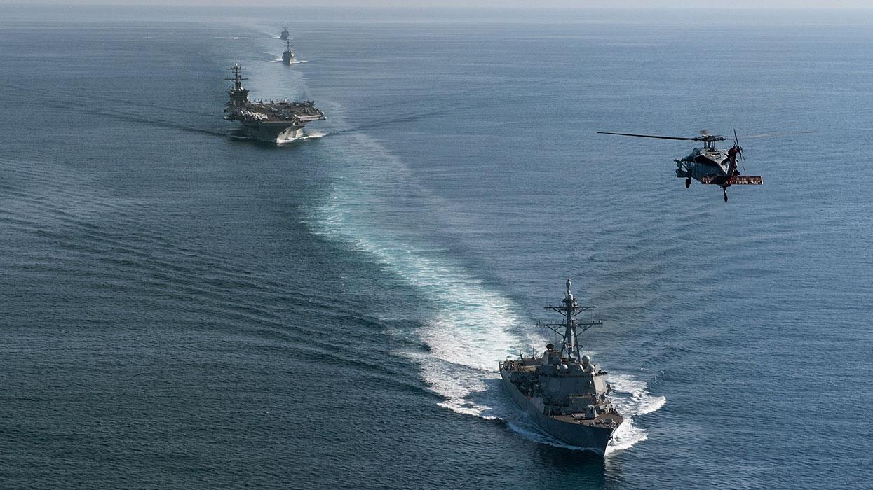 Учения Военно-морских сил США в Тихом океане
