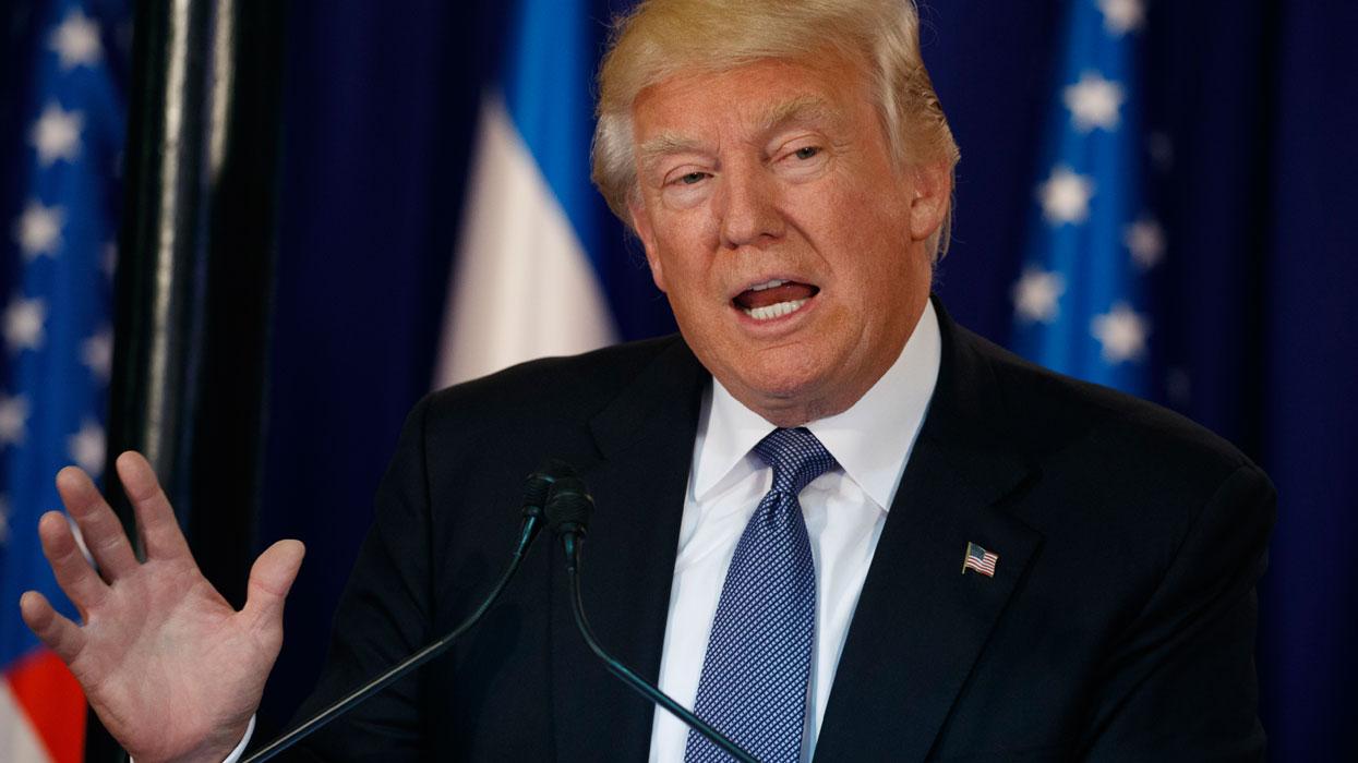 Президент США Дональд Трамп прибыл в Израиль