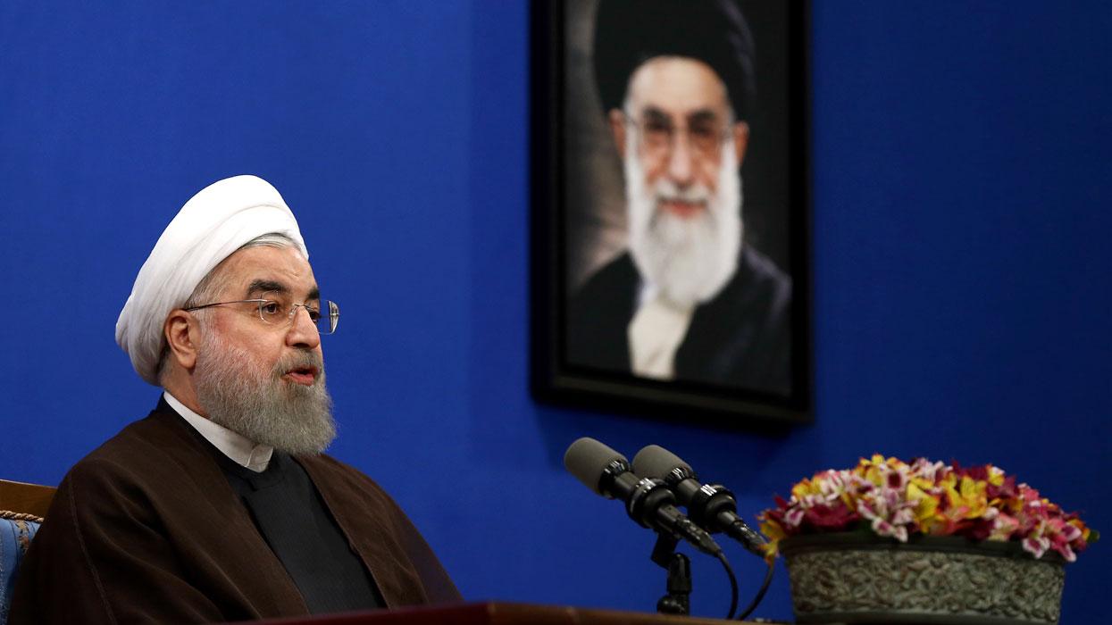 Хасан Рухани одержал победу на президентских выборах в Иране