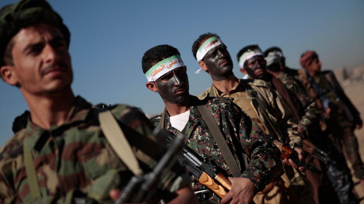 Мобилизация членов военной группировки