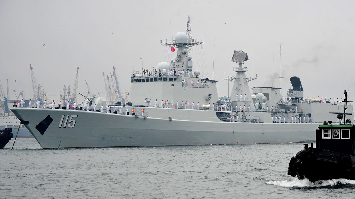 корабль КНР