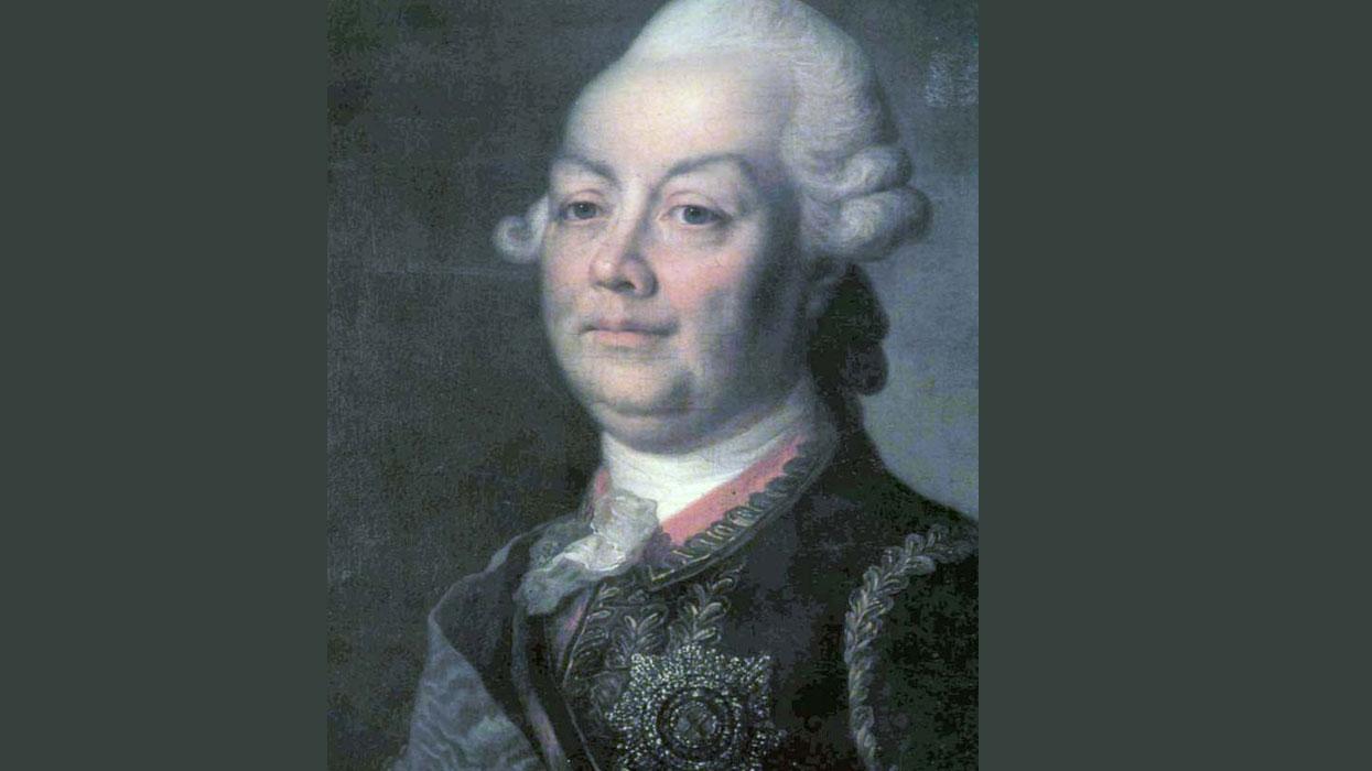 Портрет генерал-фельдмаршала П. А. Румянцева-Задунайского
