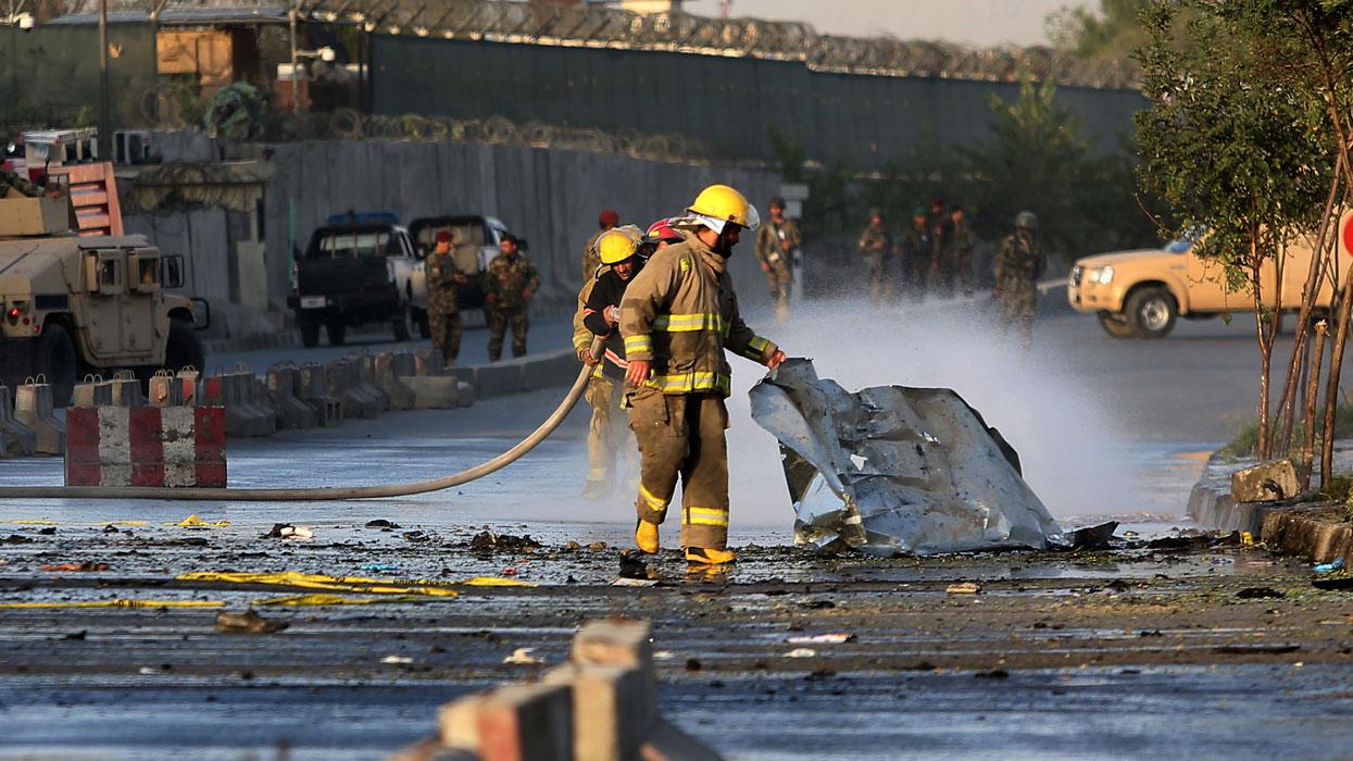 В результате серии терактов в Кабуле погибли более 30 человек