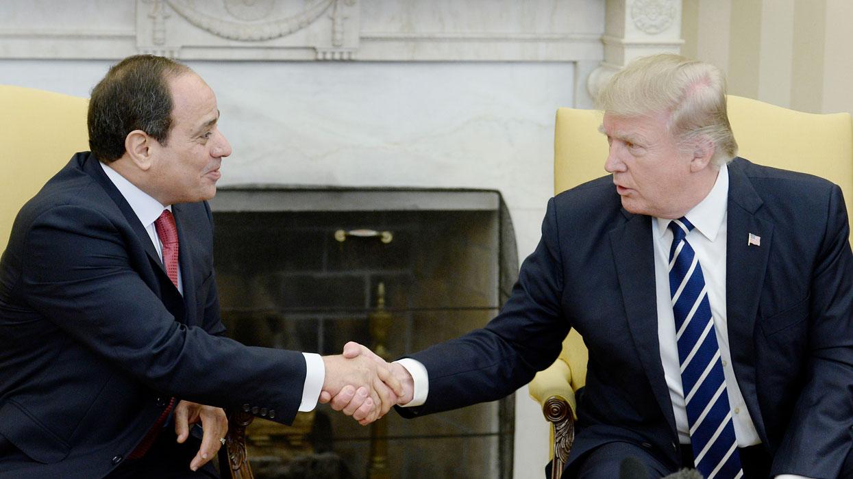 Визит президента Египта Абделя Фаттаха ас-Сиси в США