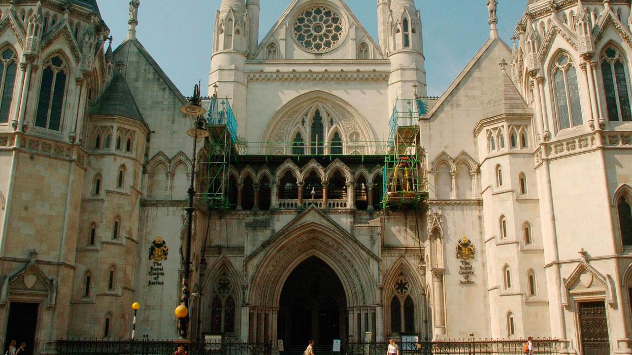 Здание Лондонского королевского суда