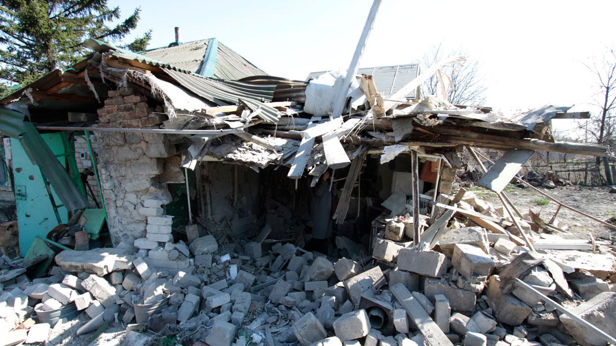 В Донецке в результате обстрела погиб человек