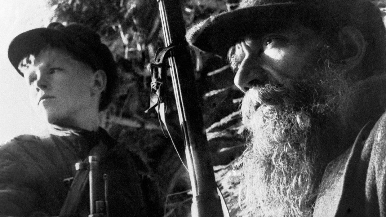 Два партизана, 1943 год