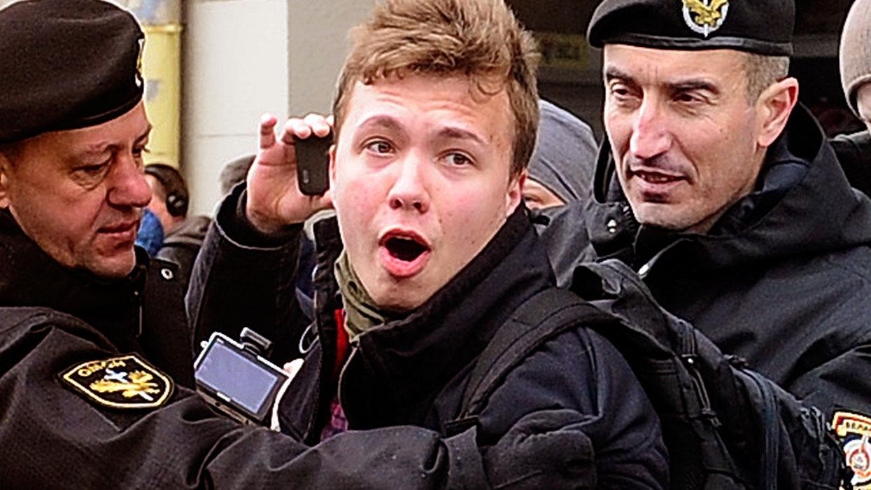 Белоруссия. Минск. 26 марта 2017. Задержания участников акции протеста/