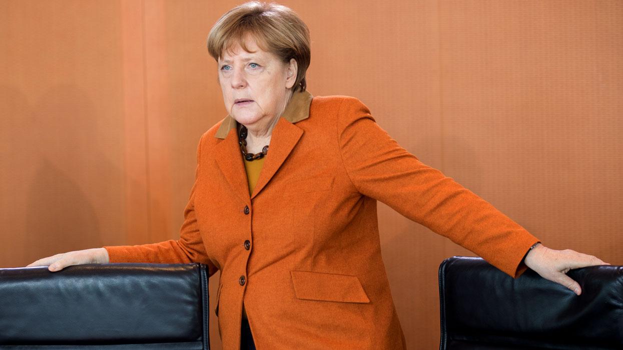 Заседание кабинета министров Германии в Берлине