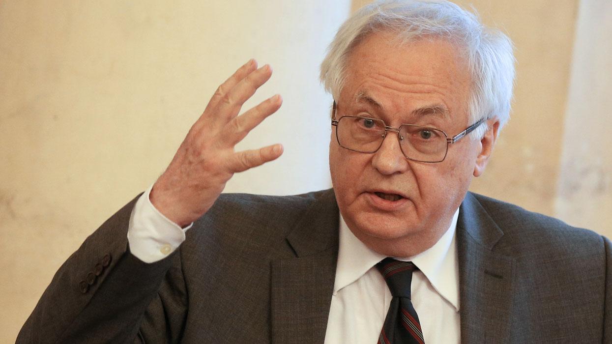 Роберт Нигматулин во время заседания президиума Российской академии наук