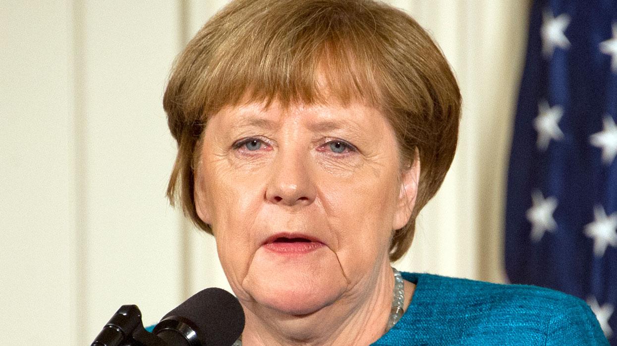 Визит канцлера Германии Ангелы Меркель в США