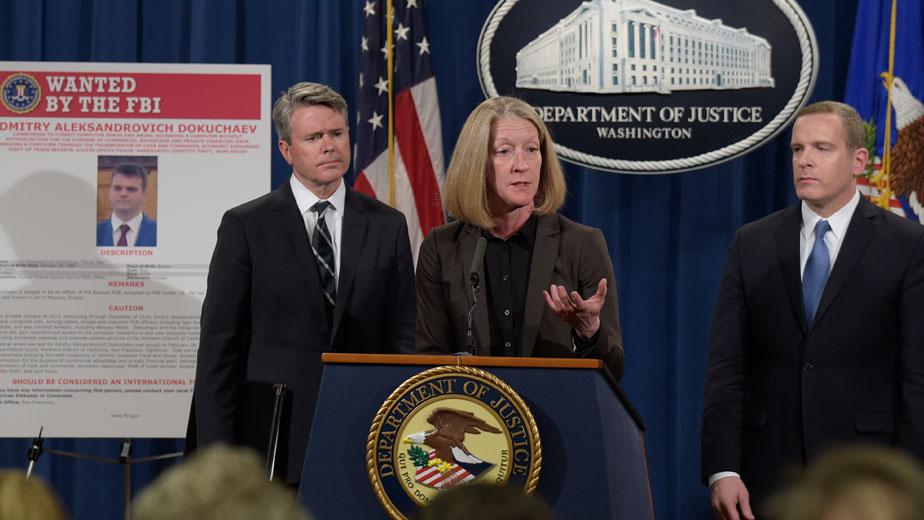 Власти США предъявили обвинения во взломе серверов Yahoo в 2014 году группе хакеров, включая граждан РФ