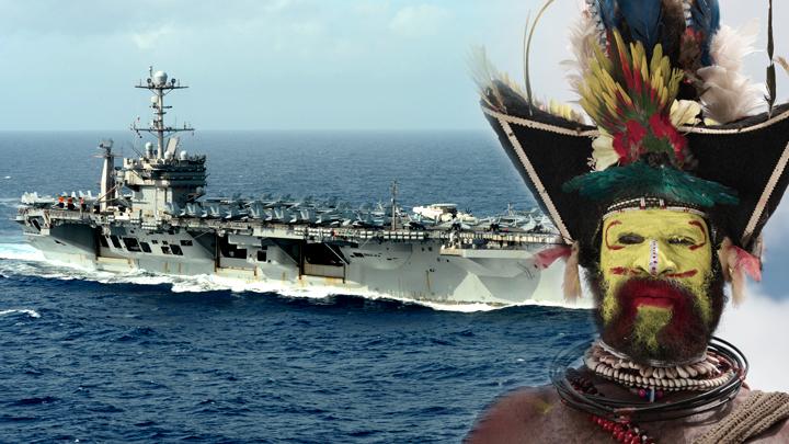 США: Авианосцы пожирают друг друга в войне вчерашнего дня
