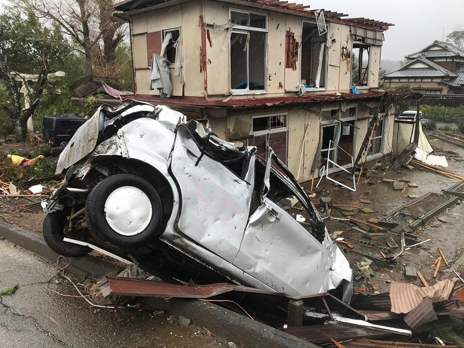 Такого не было 60 лет: Как Япония пережила разрушительный тайфун