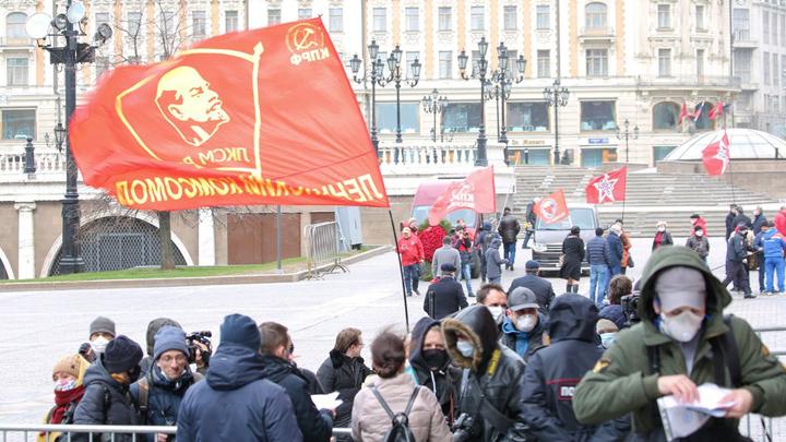 «Он шарил расклады, как хитрый вор»: Левые дежурно поблудили про Ленина