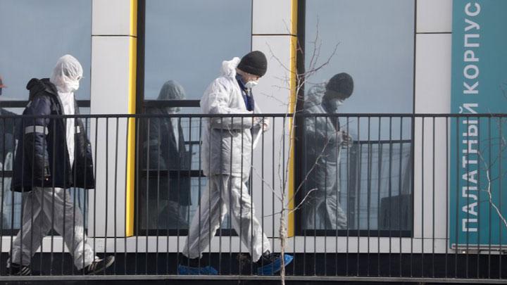 На очереди пандемии и эпидемии: Ураганными темпами Россия строит госпиталь, но не для коронавируса