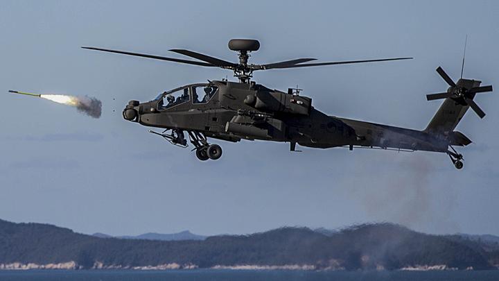 «Страшнее коронавируса»: Американские вертолёты расстреляли русские танки