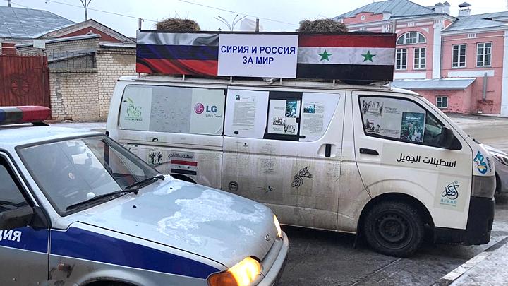 Звезда Сирии прошла 6000 км пешком, чтобы увидеть Путина