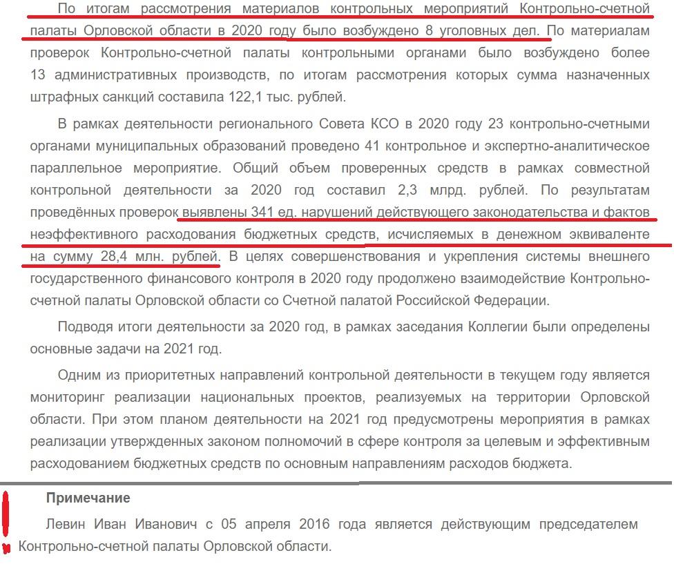 официальный сайт КСП Орловской области